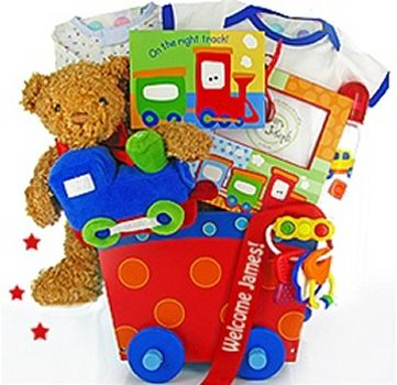 Buy New Baby Gift Basket