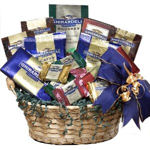 dark chocolate gift basket