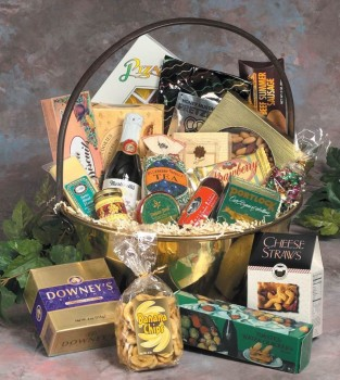 Executive Gift Baskets Corporate Holiday Gift Basket
