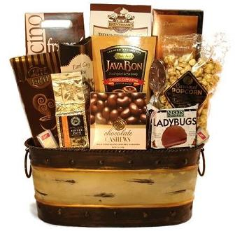 Gourmet Coffee Gift Baskets  sc 1 st  Unique Gift Baskets Gift Basket Gift Basket Ideas for Men and Women & Gourmet Coffee Gift Baskets Starbucks Coffee Gift Basket