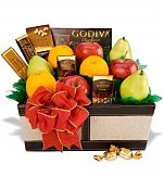 gourmet fruit gift basket