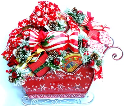 Unique Christmas Gift Baskets, Christmas Food Gift Baskets