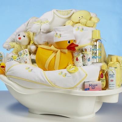 gift basket baby shower invitation