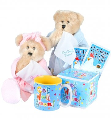 Gift basket get well for Unusual get well gifts