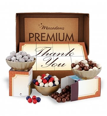 gourmet thank you gift basket
