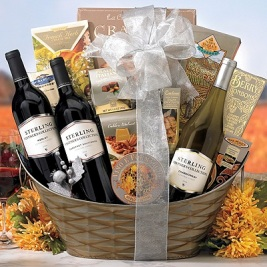 Wine Cheese Gift Baskets